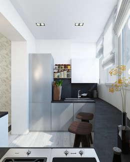 Кухня/столовая: Кухни в . Автор – Eclectic DesignStudio