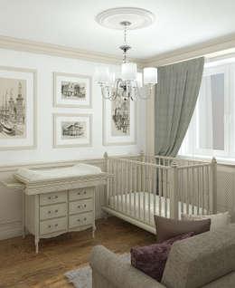 Детская комната: Детские комнаты в . Автор – Yurov Interiors
