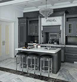 Cocinas de estilo  por Yurov Interiors