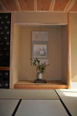 伝承・座敷・床の間: 樹・中村昌平建築事務所が手掛けたアートです。