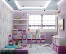 Dormitorios infantiles de estilo ecléctico por Eclectic DesignStudio