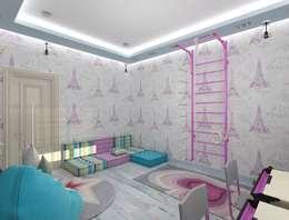 игровая: Детские комнаты в . Автор – Eclectic DesignStudio