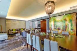 modern Dining room by Enrique Cabrera Arquitecto