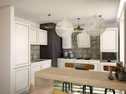 Cocinas de estilo industrial por YOUR PROJECT