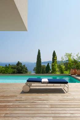 Maison Blanche: Maisons de style de style Méditerranéen par nesso