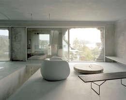 Projekty,  Salon zaprojektowane przez Brandlhuber+ Emde, Schneider