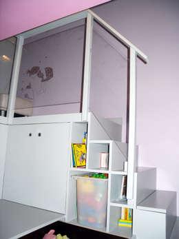 Côté fille: Chambre d'enfant de style de style Moderne par I.D.E.E