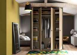 Armoire-Dressing sur-mesure: Dressing de style de style Scandinave par Centimetre.com