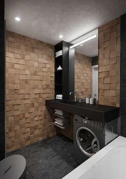industriële Badkamer door tim-gabriel