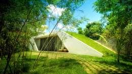 Maisons de style de style Moderne par sanzpont [arquitectura]