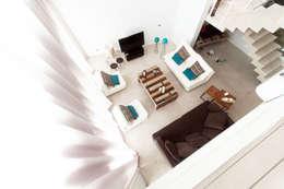 Salon de style de style Moderne par Estudio Arqt