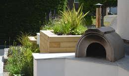 Jardines de estilo moderno de Robert Hughes Garden Design