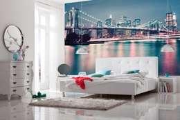 Paredes y pisos de estilo moderno por Posters.nl