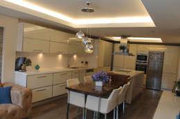 HEBART MİMARLIK DEKORASYON HZMT.LTD.ŞTİ. – Hızır Eksioglu Evi: modern tarz Mutfak