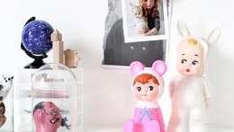 Sfeerverlichting op de meisjeskamer: moderne Kinderkamer door Girlslabel