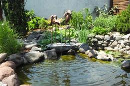 Swimming pond by Kupferreich Kft.