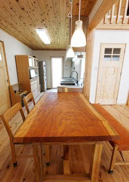 ห้องนั่งเล่น by ビオハウジング タケモリ1級建築設計事務所