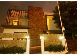 URBAN NEST: modern Houses by Aadyam Design Studio