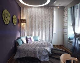 Яникова Светлана: klasik tarz tarz Yatak Odası