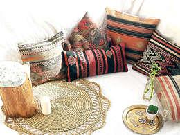 Cojines kilim: Hogar de estilo  de Tu Cajon Vintage Shop