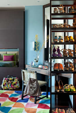 eclectic Bedroom by PDV studio di progettazione