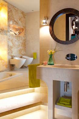 eclectic Bathroom by PDV studio di progettazione