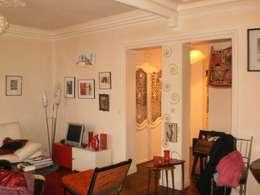 Salon avant :  de style  par Sara Camus Bouanha Architecture Interieure