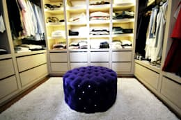 غرفة الملابس تنفيذ JOL-wnętrza