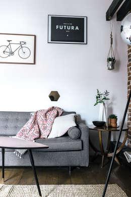 Mieszkanie Salwator, Kraków: styl , w kategorii Salon zaprojektowany przez Odwzorowanie