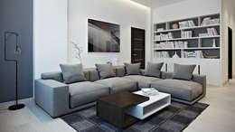 Projekty,  Salon zaprojektowane przez Aleksandr Zenzura