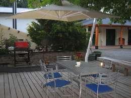 Jardín de estilo  por EL MAITEN