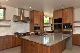 Projekty,  Kuchnia zaprojektowane przez Uptic Studios