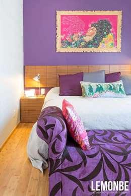 Dormitorios de estilo moderno por LEMONBE