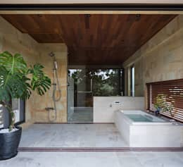ห้องน้ำ by 岡部義孝建築設計事務所