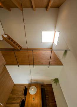 moderne Slaapkamer door 浦瀬建築設計事務所