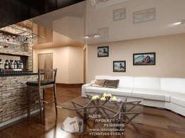 Интерьер бара в загородном доме: Гостиная в . Автор – Бюро домашних интерьеров