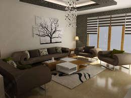 Fabbrica Mobilya – Özel Ev Tasarımı: modern tarz Oturma Odası