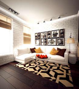 industrial Living room by ООО 'Студио-ТА'