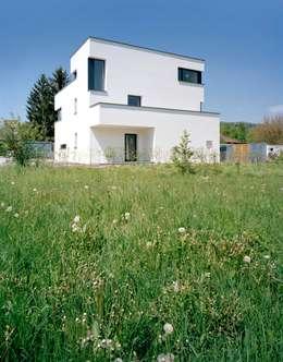 Haus Reusser, Windisch: moderne Häuser von mischa badertscher architekten ag
