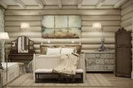 Дизайн интерьера дома в п.Зеленое: Спальни в . Автор – MJMarchdesign