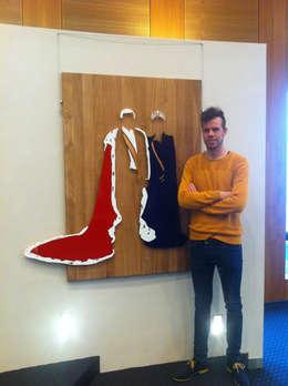 Work: moderne Woonkamer door Studio Vincent