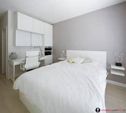 Chambre de style de style Moderne par Urządzamy pod klucz