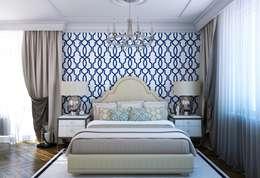 Projekty,  Sypialnia zaprojektowane przez seven2seven studio