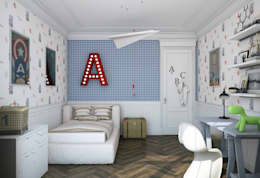 Квартира в Караганде: Детские комнаты в . Автор – seven2seven studio