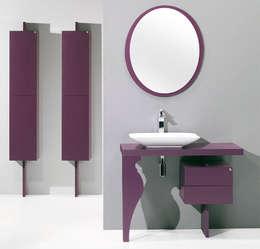 modern Bathroom by Bañoweb