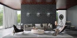 Salas de estilo moderno por Artur Akopov
