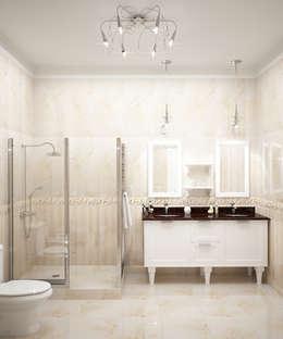 Baños de estilo clásico por Виктория Лаврик