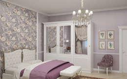 Виктория Лаврик: klasik tarz tarz Yatak Odası