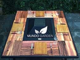 Projekty,  Ogród zaprojektowane przez Mundo Garden