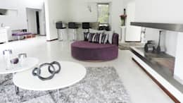 Casa YD - Estancia Abril: Livings de estilo moderno por de Jauregui Salas arquitectos
